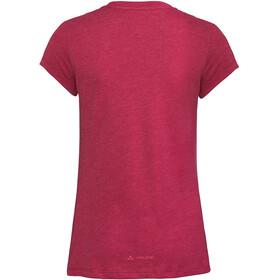 VAUDE Cyclist IV T-Shirt Women crimson red